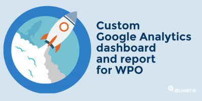 Google Analytics dashboard for WPO