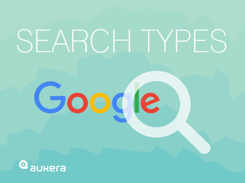 Search types… and they're not the three you're thinking of